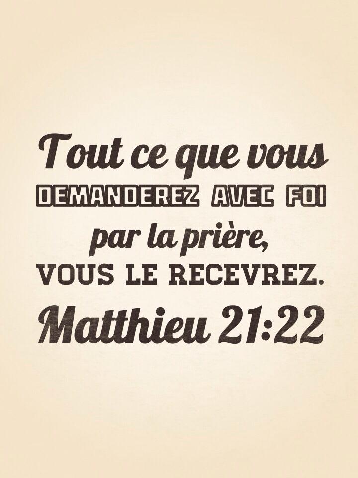 Matthieu 21:22