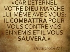 Deutéronome 20:4