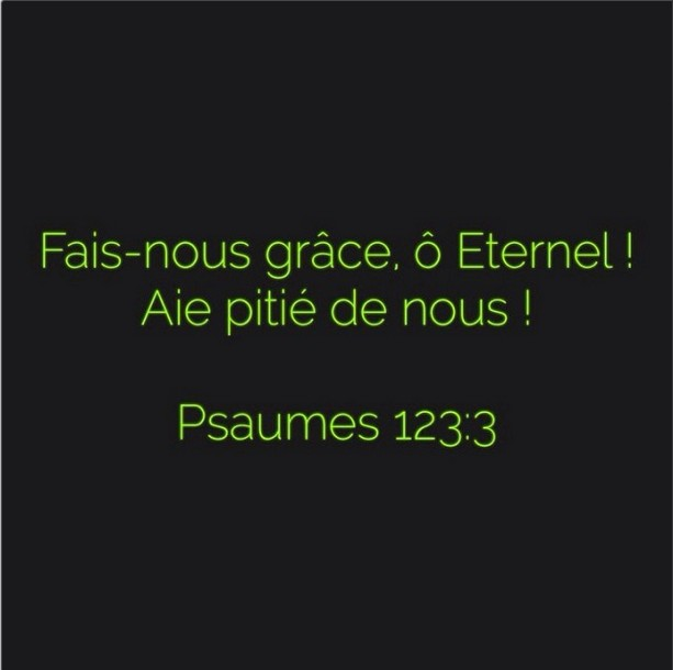 Psaumes 123:3