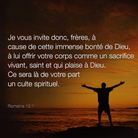 Romains 12:1