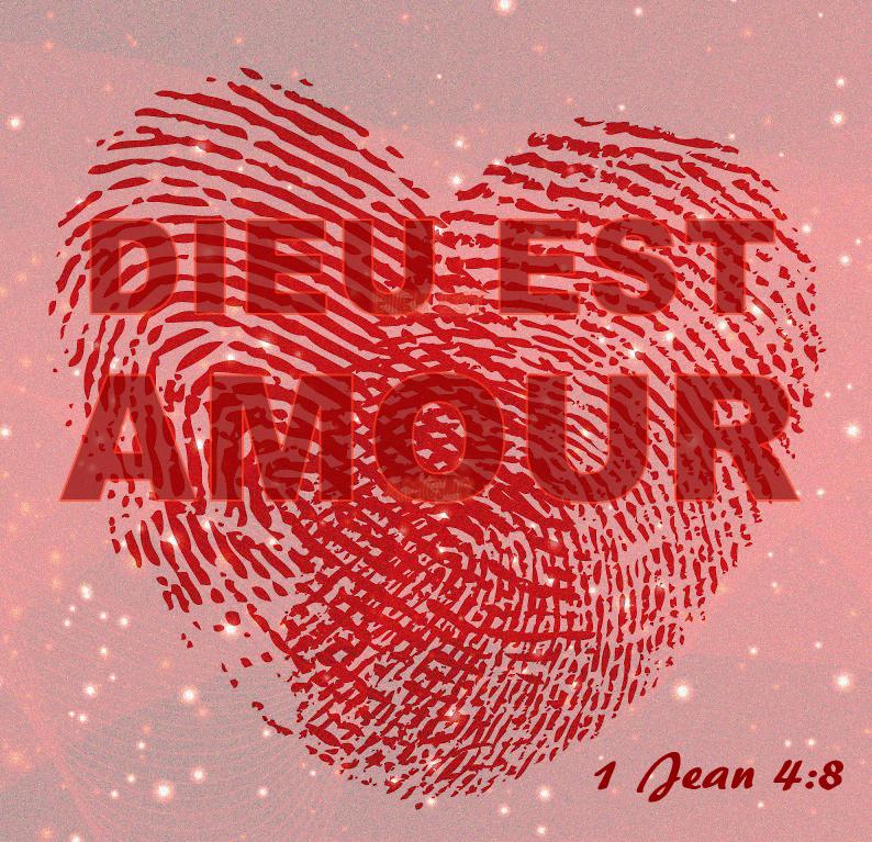 Dieu est amour 1001 versets - Dessin de l amour ...