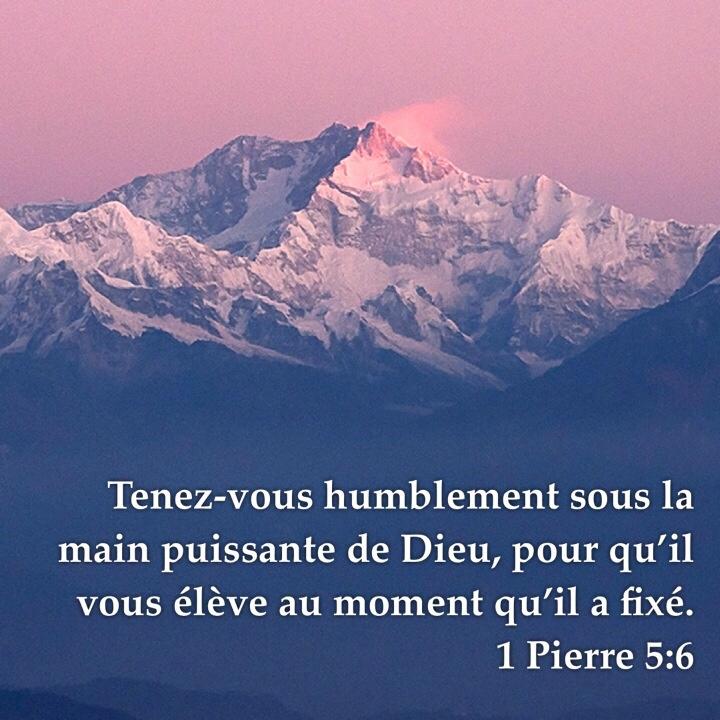 1 Pierre 5:6