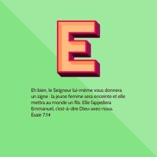 La jeune femme mettra au monde un fils : Emmanuel, Dieu avec nous