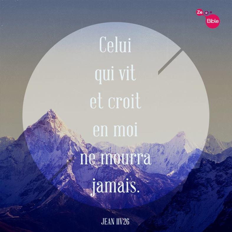 Jean 11:26