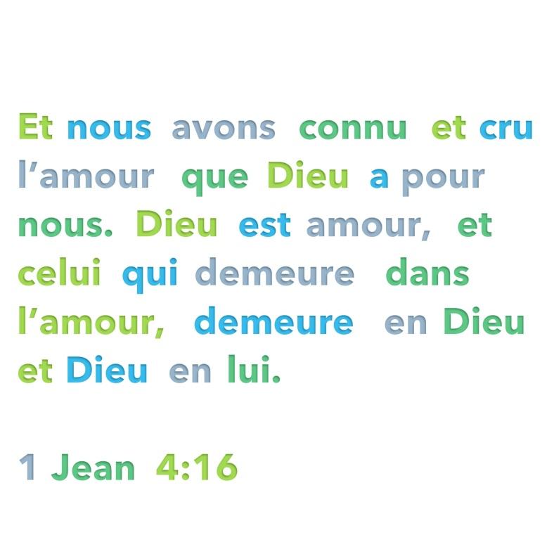 1 Jean 4:16