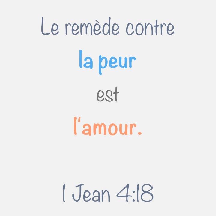 1 Jean 4:18