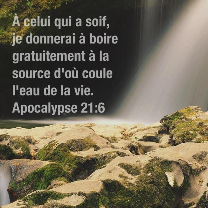 Apocalypse 21:6