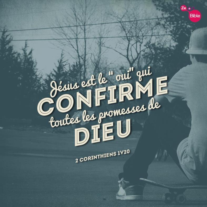 2Corinthiens 1:20