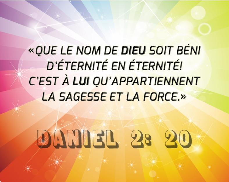 Daniel 2:20