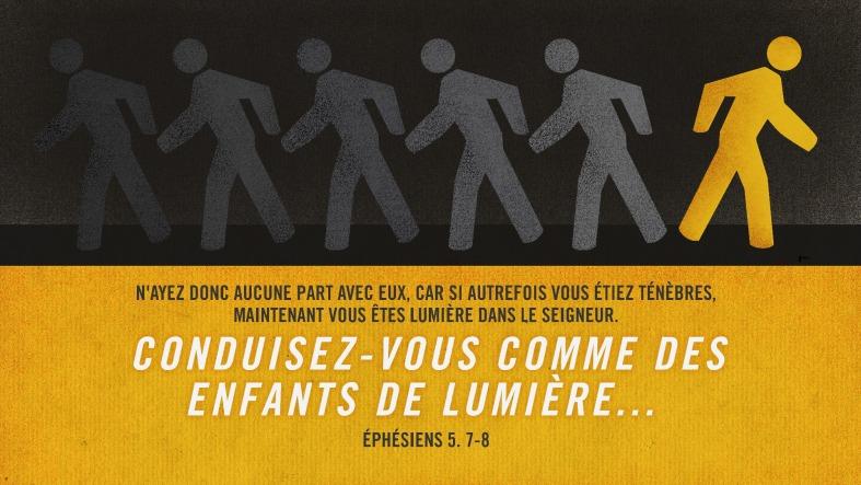 Ephésiens 5:7-8
