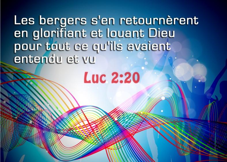 Luc 2:20