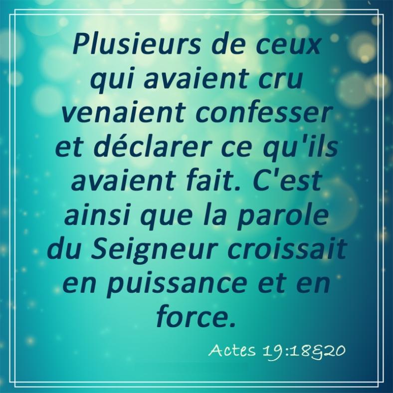 Actes 19:18+20