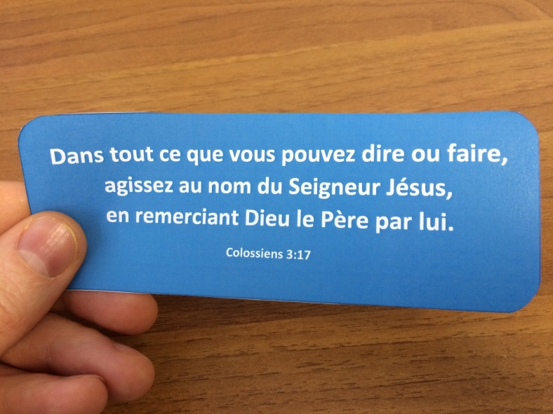 Colossiens 3:17