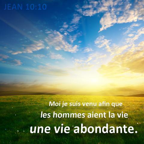 Jean 10:10