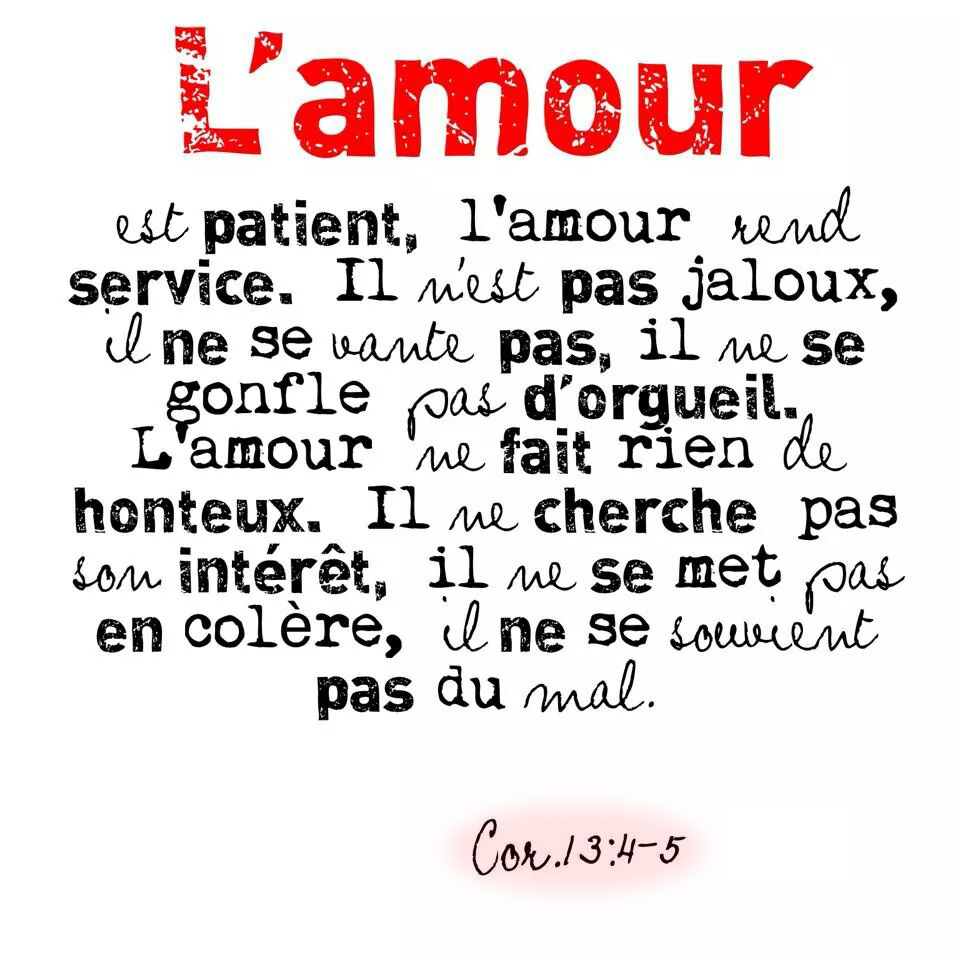Top L'amour … | 1001 versets KS57