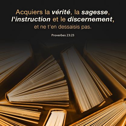 Proverbes 23:23