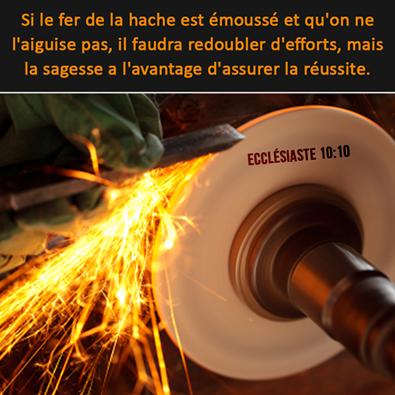 Ecclésiaste 10:10