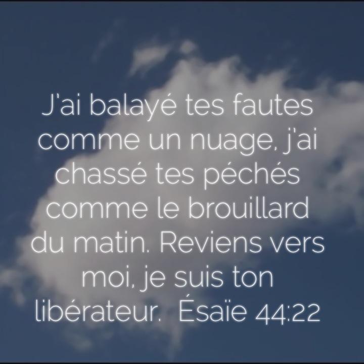Esaïe 44:22