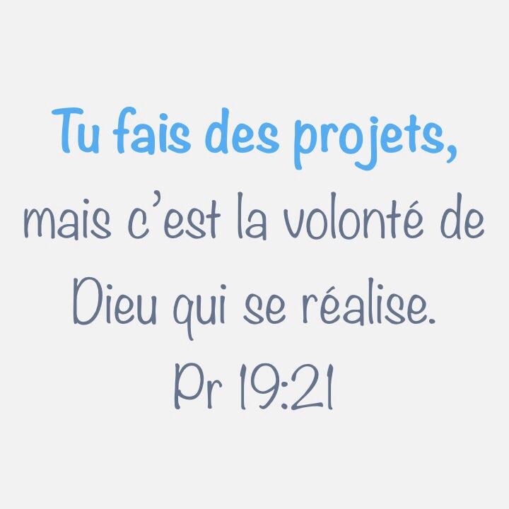 Proverbes 19:21