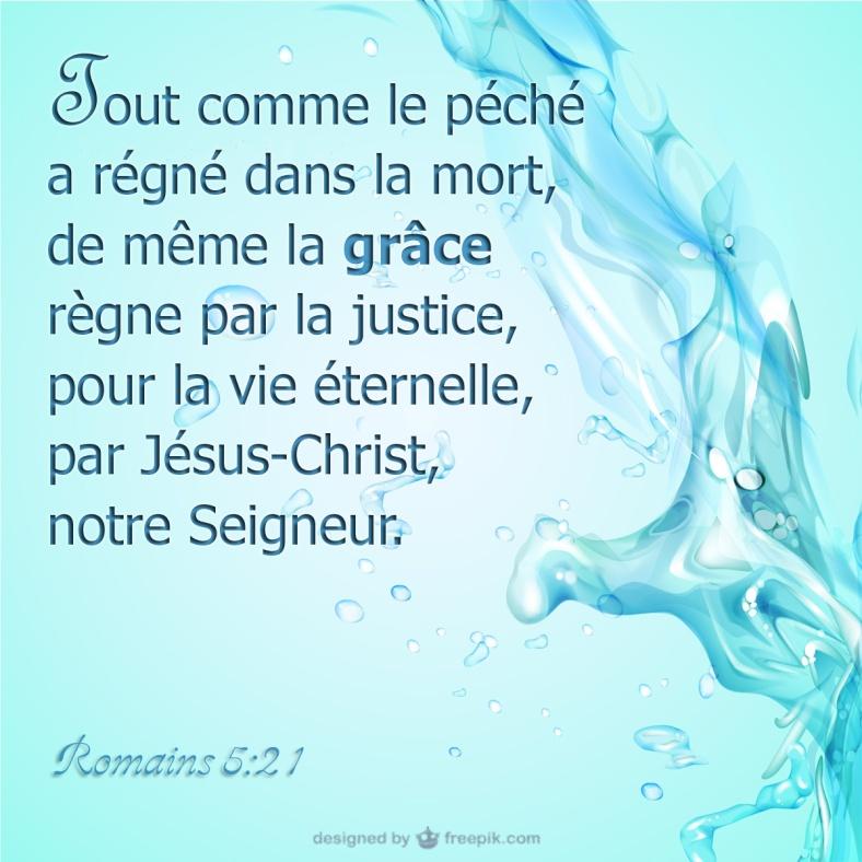 Romains 5:21