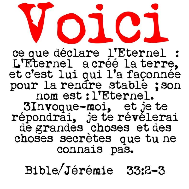 Jérémie 33:2-3