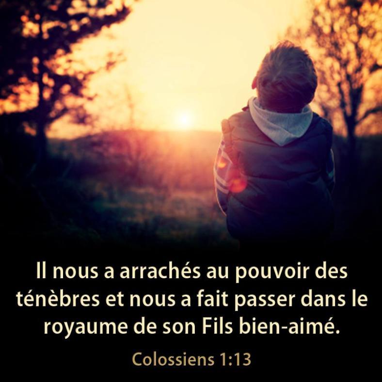 Colossiens 1:13
