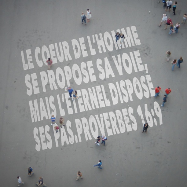 Proverbes 16:9