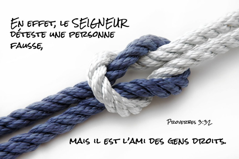 Proverbes 3:32