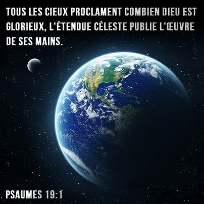 Psaume 19:1