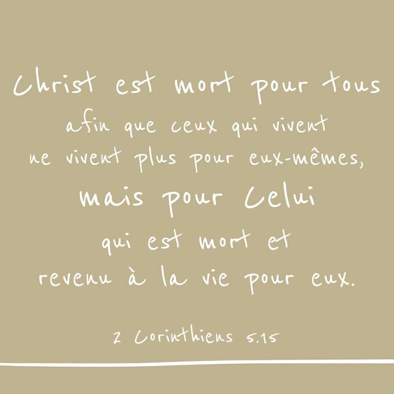 2 Corinthiens 5:15