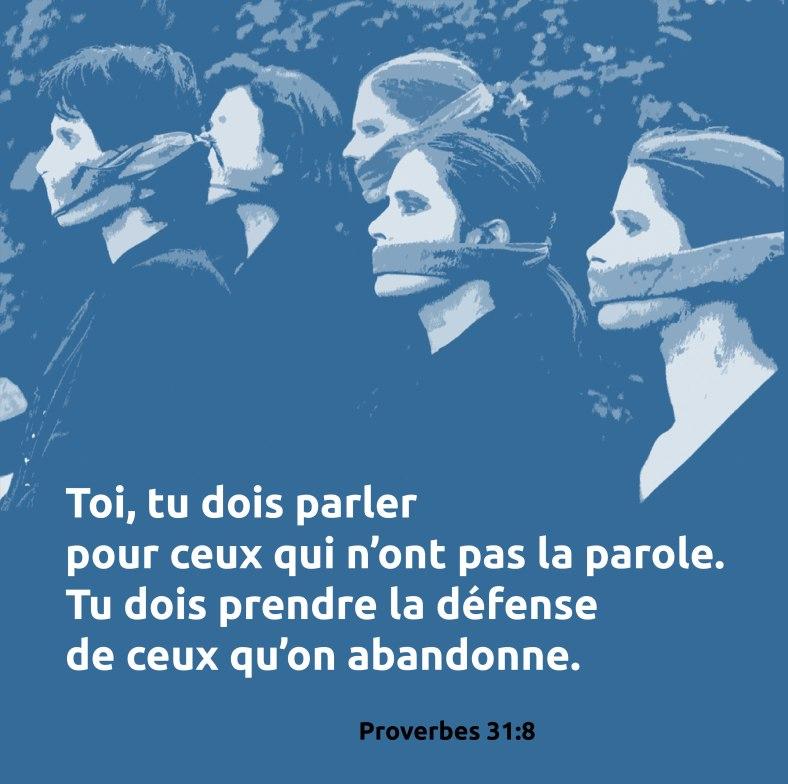 Proverbes 31:8