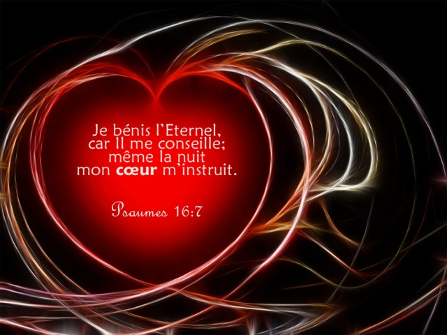 Psaume 16:7