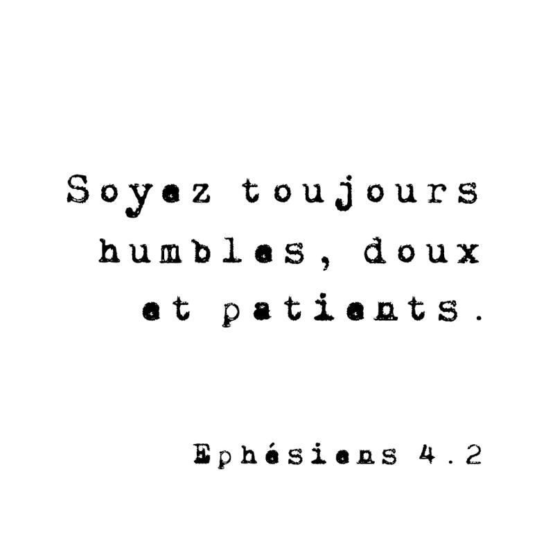 Ephésiens 4:2