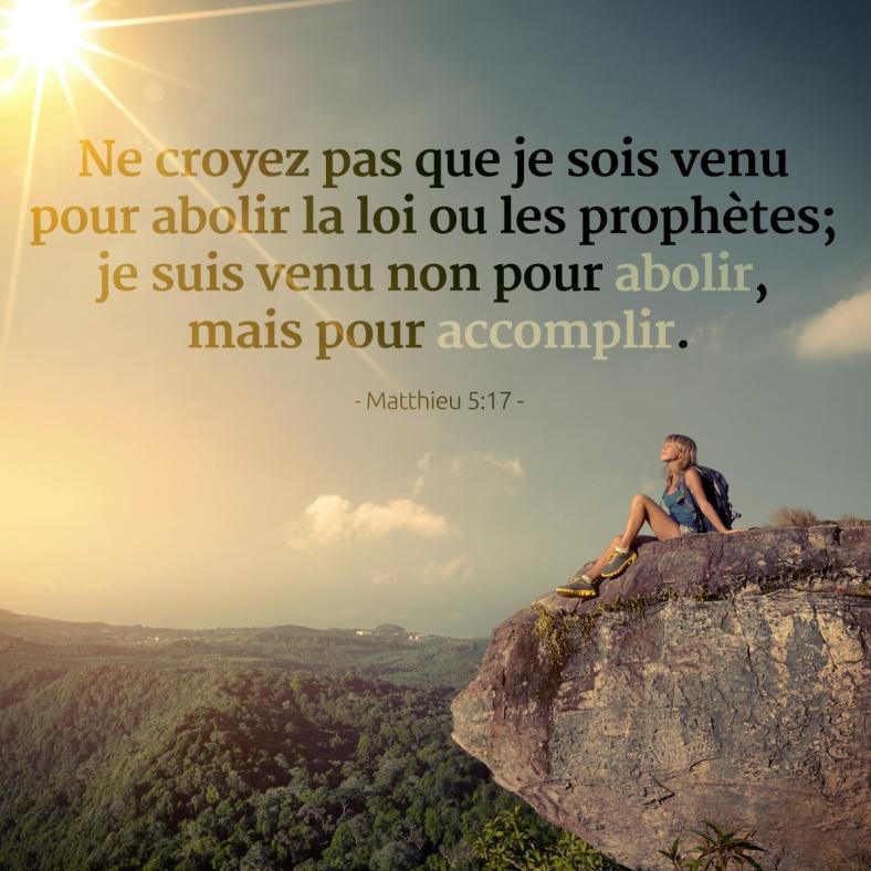 Matthieu 5:17
