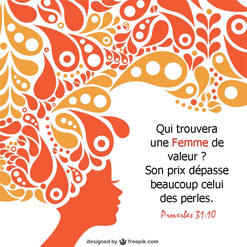 Proverbes 31:10