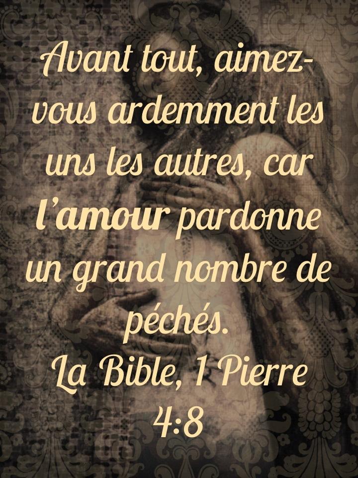 L Amour Pardonne 1001 Versets