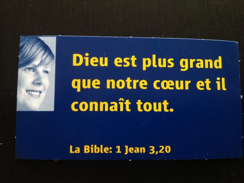 1 Jean 3:20