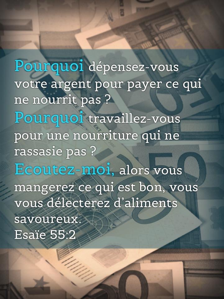 Esaïe 55:2