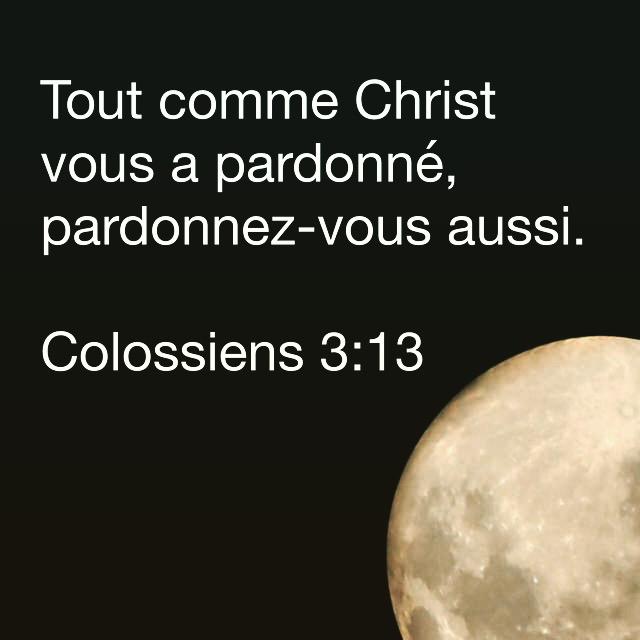 Colossiens 3:13