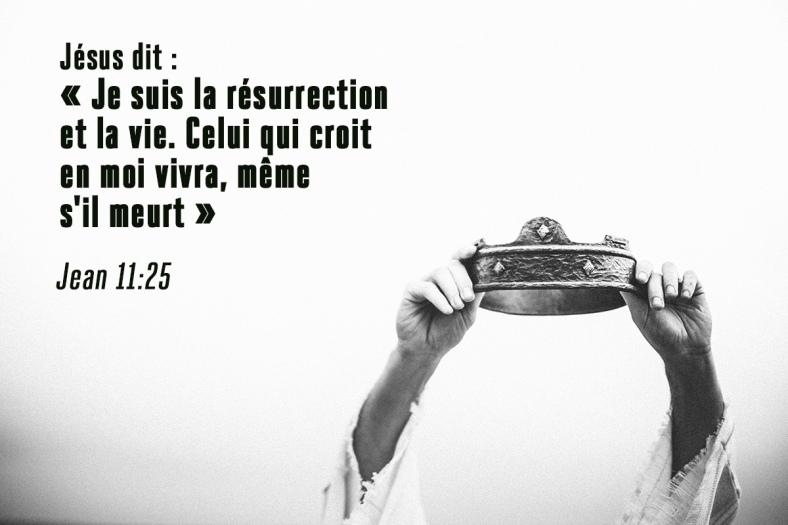 Jean 11:25