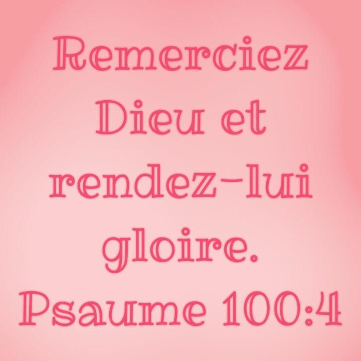 Psaume 100:4