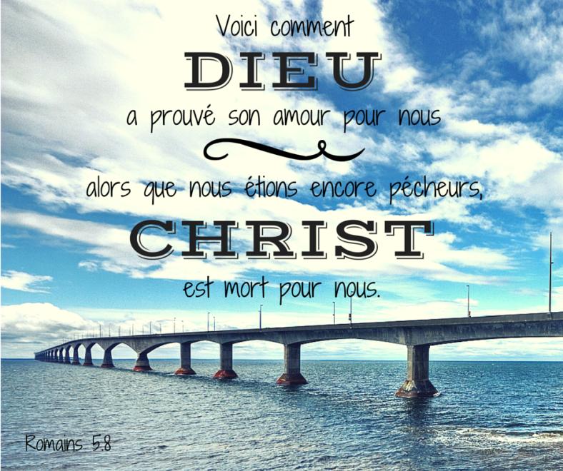 Romains 5:8