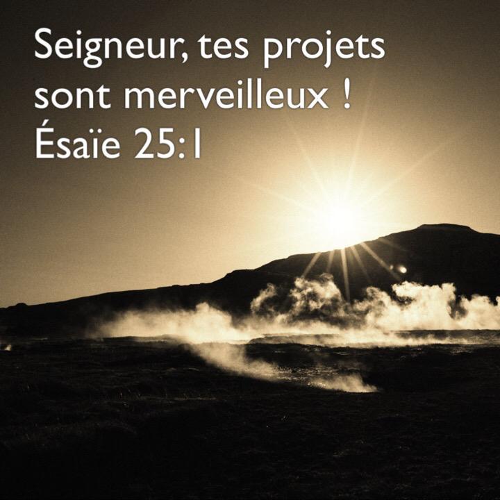 Esaïe 25:1