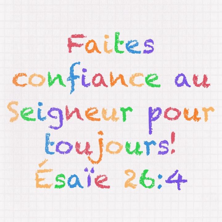 Esaïe 26:4
