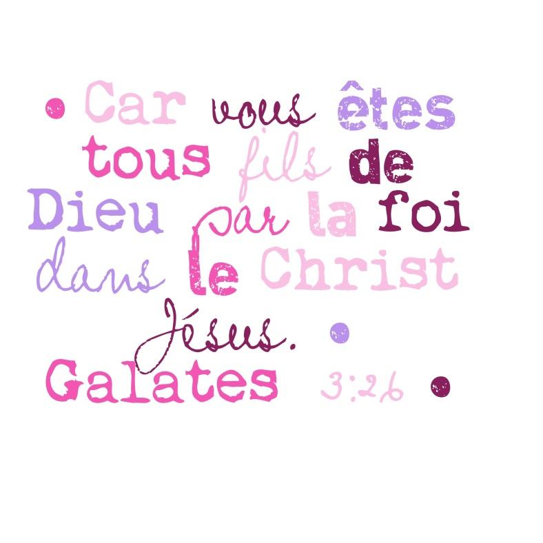 Galates 3:26