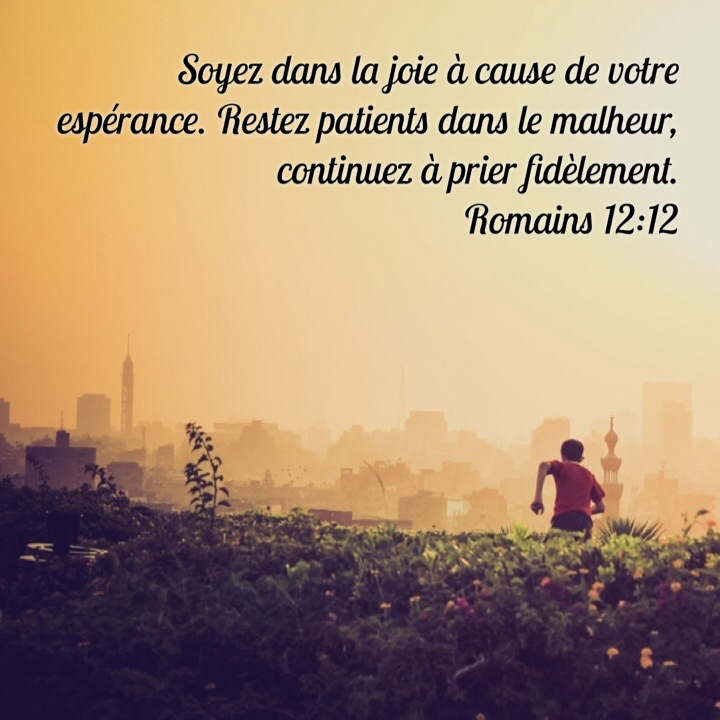 Romains 12:12