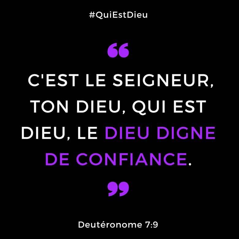 Deutéronome 7:9