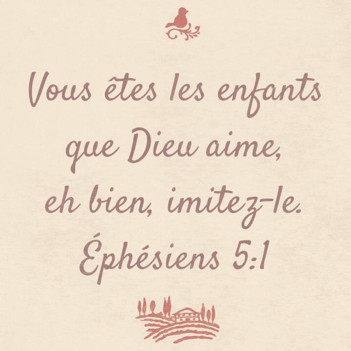 Ephésiens 5:1