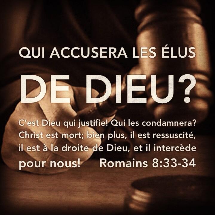 Romains 8:33-34
