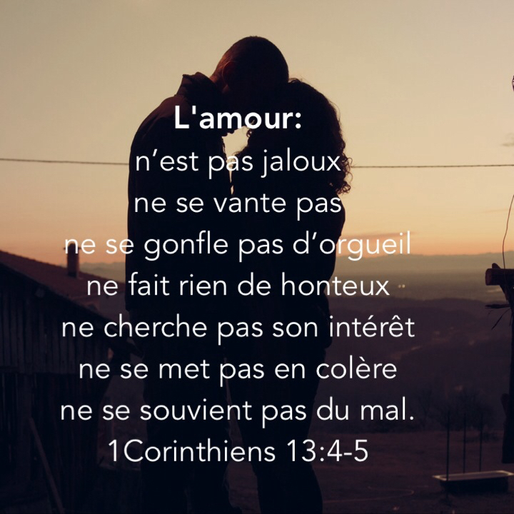 Souvent L'amour n'est pas… | 1001 versets GA01
